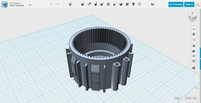 . Autodesk  123D Design