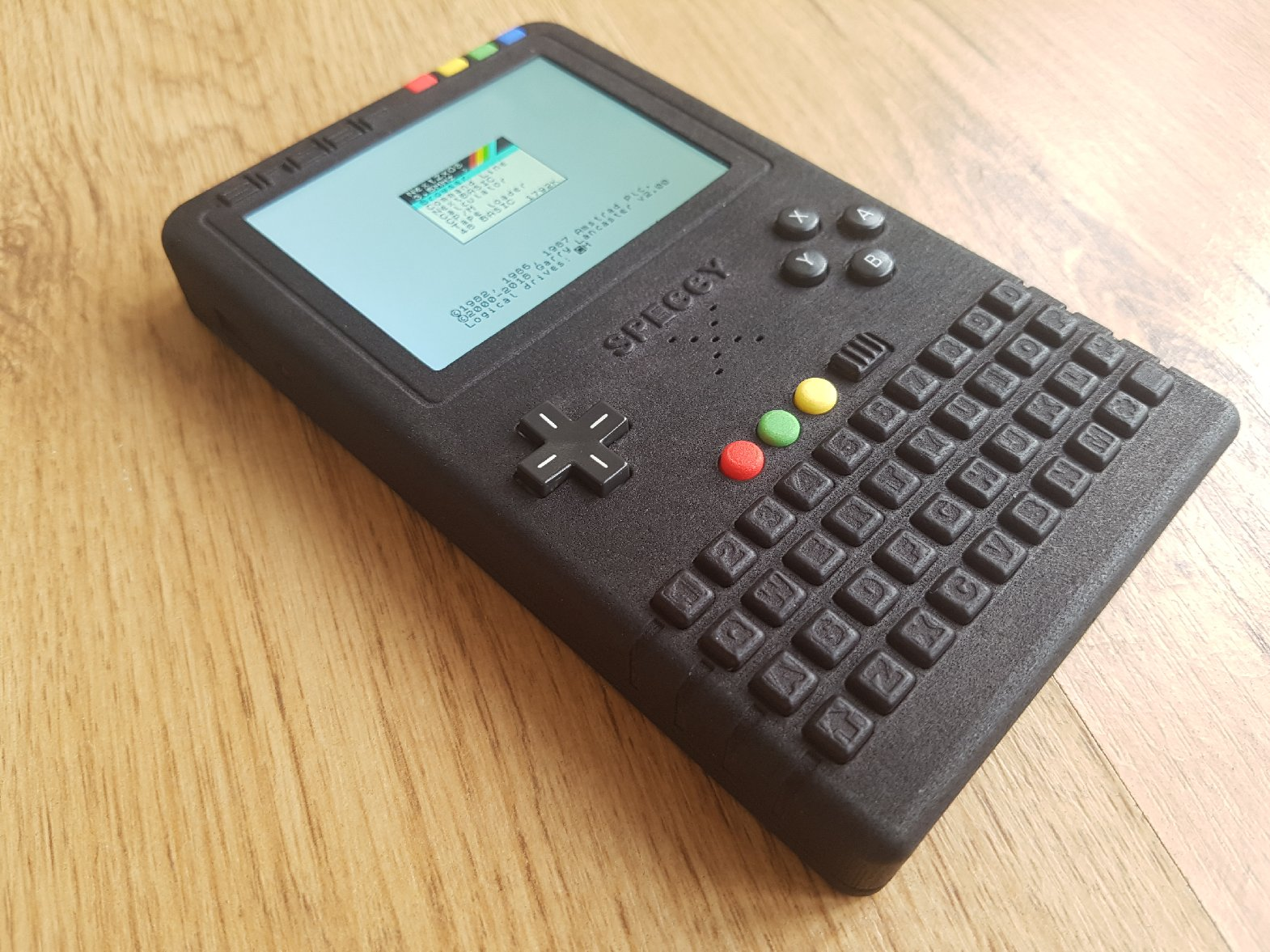The finished Handheld 3.5