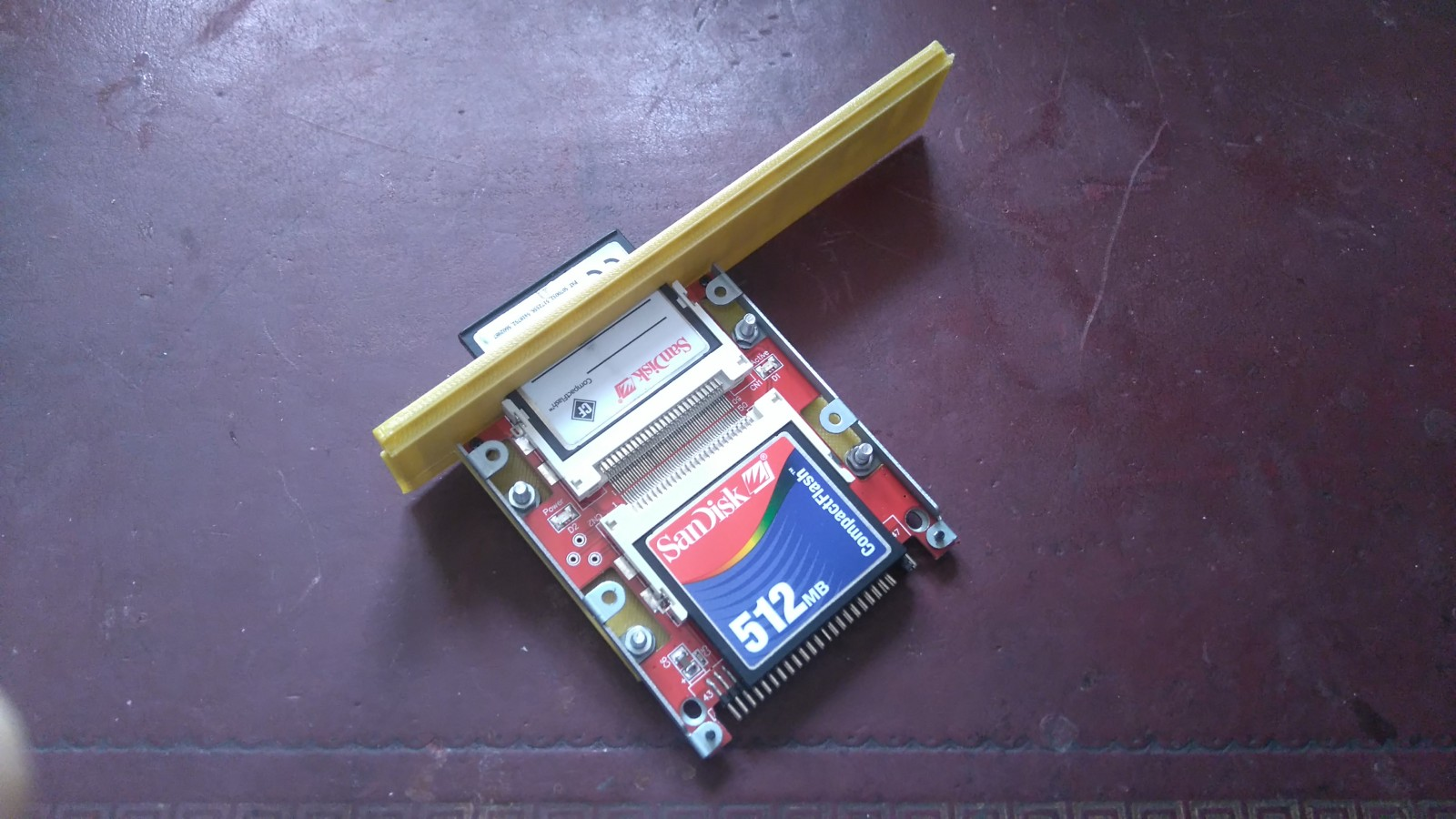 A3010 Archimedes IDE bracket printed out no. 1