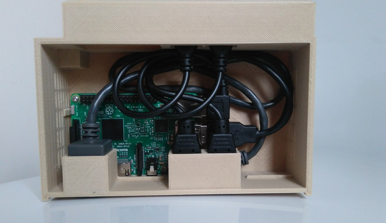 Raspberry Pi RISC OS Case 2