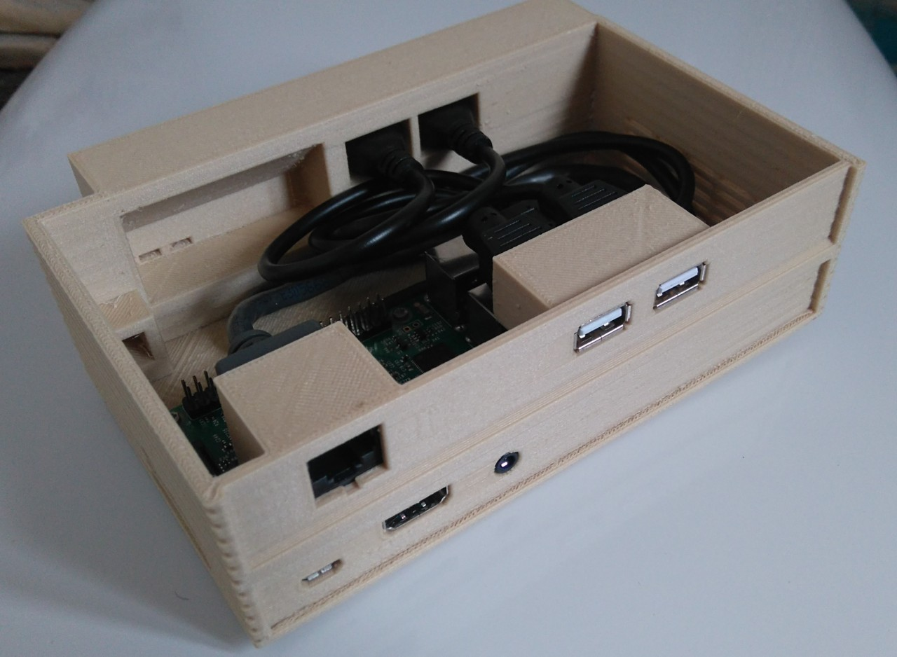 Raspberry Pi RISC OS Case 3