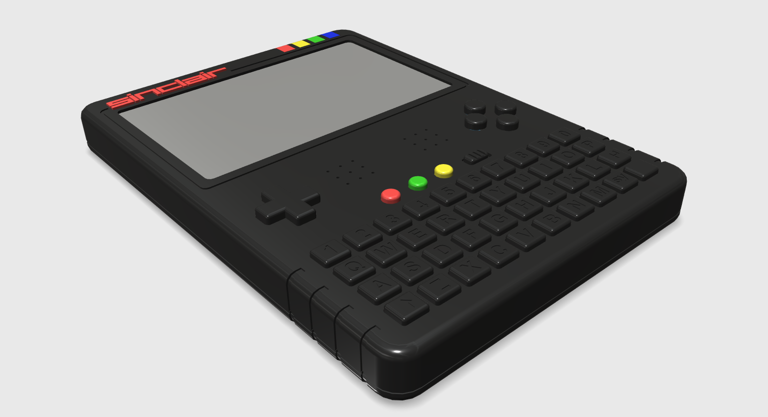 ZX Spectrum Next Handheld Design 1