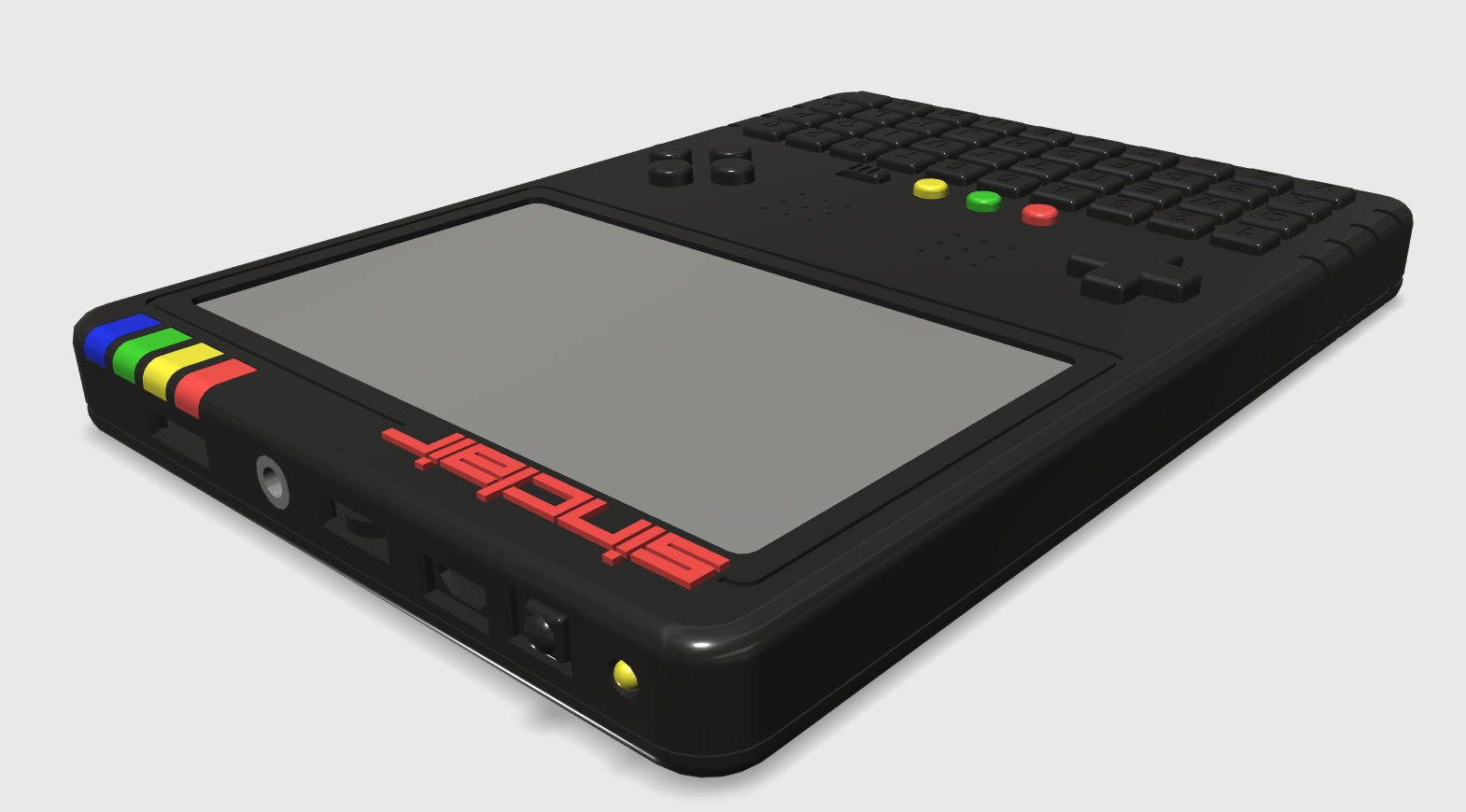 ZX Spectrum Next Handheld Design 2
