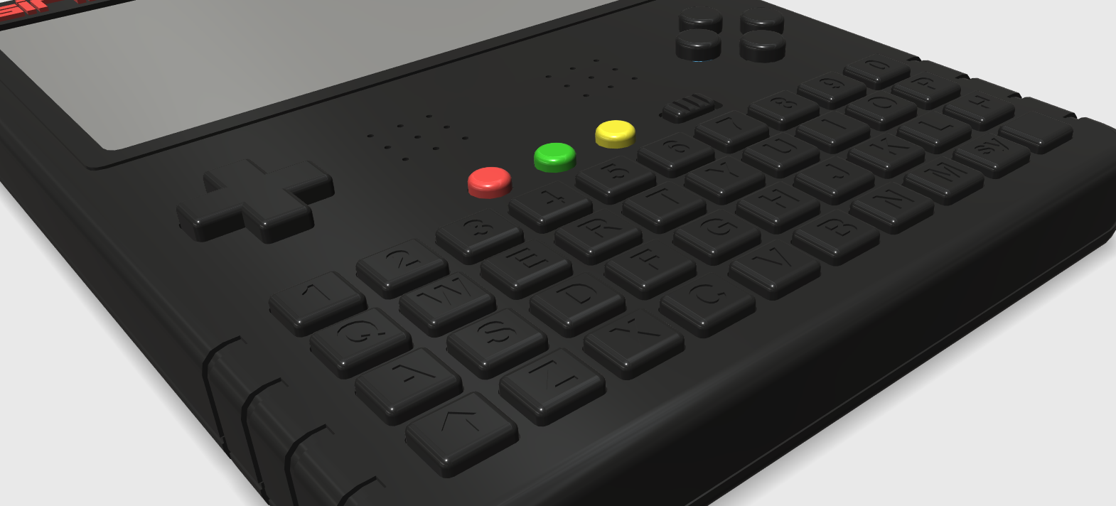 ZX Spectrum Next Handheld Design 3