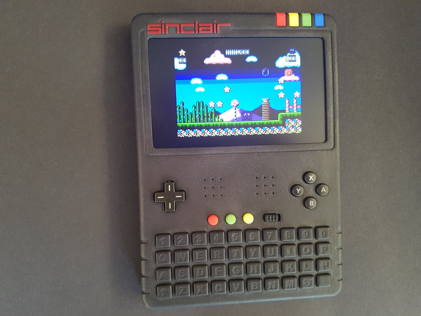 The finished Handheld Spectrum Next Prototype