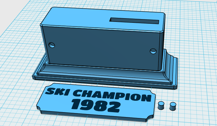 Horace Goes Skiing Design Trophy