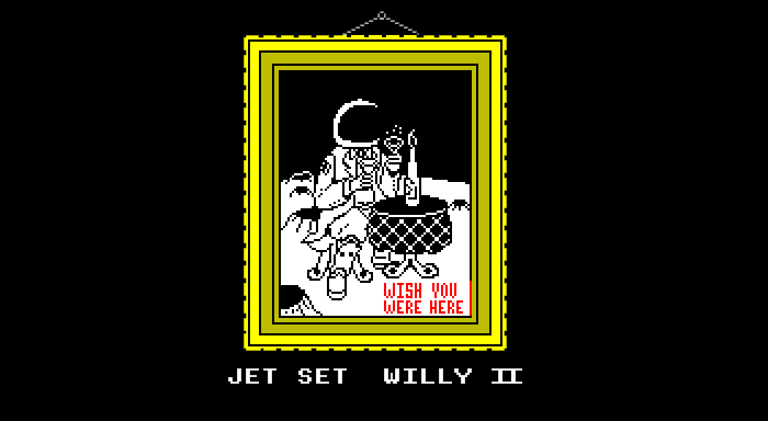 Jet Set Willy 2 Loading Screen
