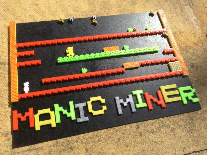 Manic Miner put together