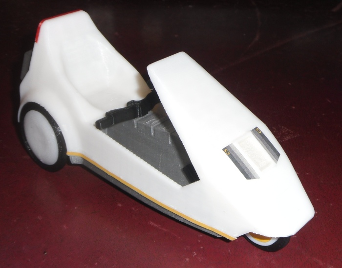 Sinclair C5 Model Assembly