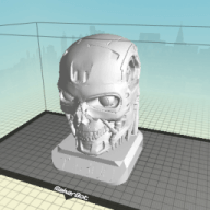 Printing Large Models - The Terminator T-800
